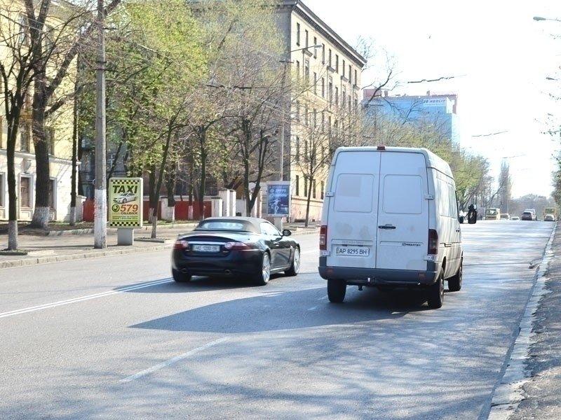 Ситилайт №240239 в городе Днепр (Днепропетровская область), размещение наружной рекламы, IDMedia-аренда по самым низким ценам!