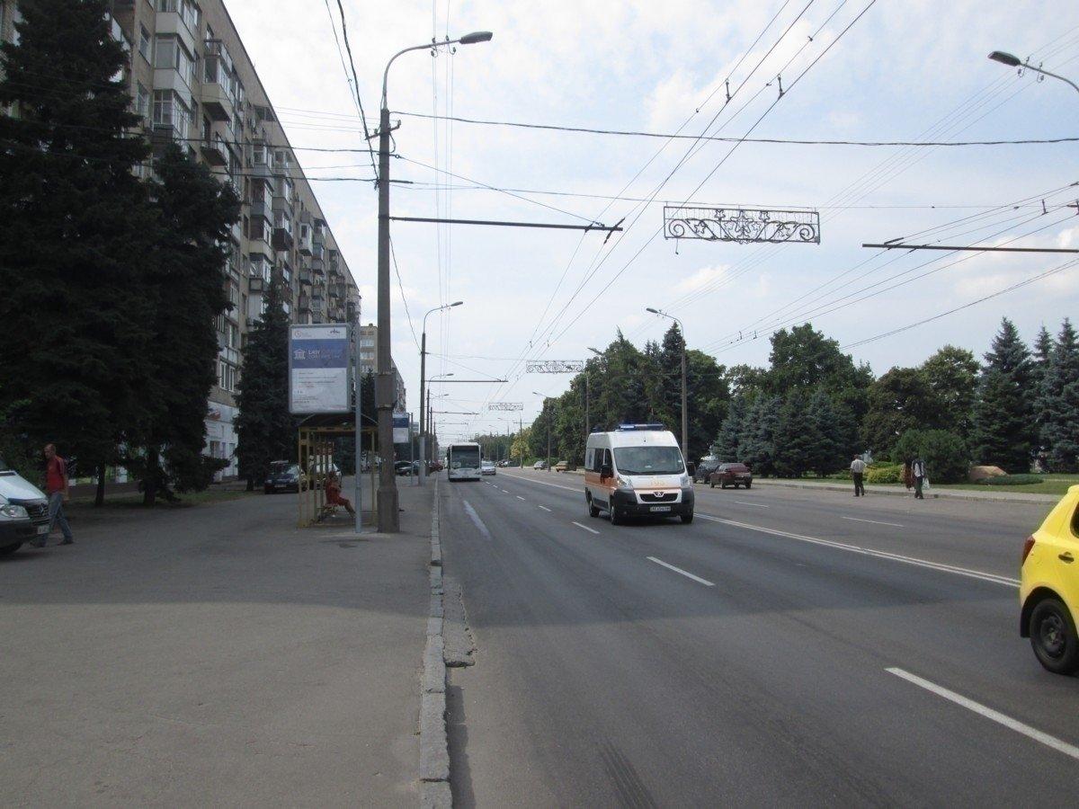 Ситилайт №240259 в городе Днепр (Днепропетровская область), размещение наружной рекламы, IDMedia-аренда по самым низким ценам!