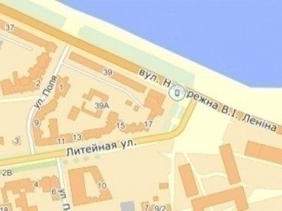 IDMedia Наружная реклама в городе Днепр (Днепропетровская область), Ситилайт в городе Днепр №240259 схема