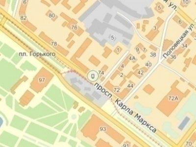 IDMedia Наружная реклама в городе Днепр (Днепропетровская область), Ситилайт в городе Днепр №240261 схема