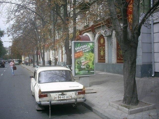 Ситилайт №240262 в городе Днепр (Днепропетровская область), размещение наружной рекламы, IDMedia-аренда по самым низким ценам!