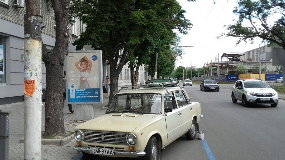 Ситилайт №240263 в городе Днепр (Днепропетровская область), размещение наружной рекламы, IDMedia-аренда по самым низким ценам!
