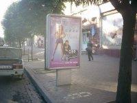Ситилайт №240268 в городе Днепр (Днепропетровская область), размещение наружной рекламы, IDMedia-аренда по самым низким ценам!