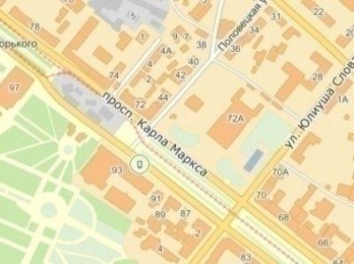 IDMedia Наружная реклама в городе Днепр (Днепропетровская область), Ситилайт в городе Днепр №240270 схема