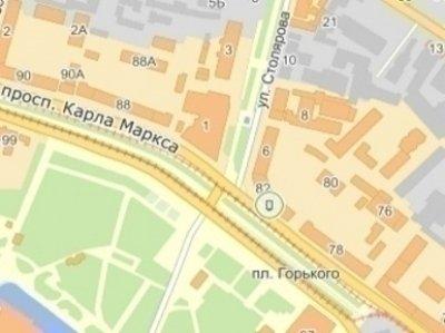 IDMedia Наружная реклама в городе Днепр (Днепропетровская область), Ситилайт в городе Днепр №240273 схема