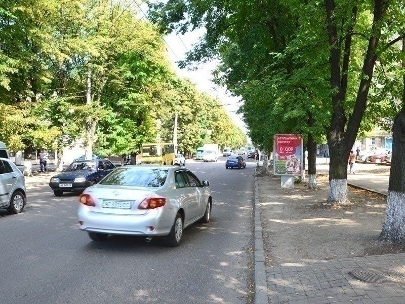 Ситилайт №240282 в городе Днепр (Днепропетровская область), размещение наружной рекламы, IDMedia-аренда по самым низким ценам!