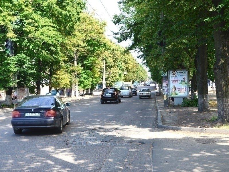 Ситилайт №240284 в городе Днепр (Днепропетровская область), размещение наружной рекламы, IDMedia-аренда по самым низким ценам!