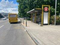 Остановка №240706 в городе Днепр (Днепропетровская область), размещение наружной рекламы, IDMedia-аренда по самым низким ценам!