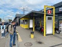 Остановка №240709 в городе Днепр (Днепропетровская область), размещение наружной рекламы, IDMedia-аренда по самым низким ценам!