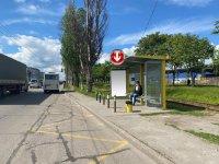 Остановка №240712 в городе Днепр (Днепропетровская область), размещение наружной рекламы, IDMedia-аренда по самым низким ценам!