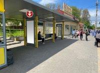 Остановка №240721 в городе Днепр (Днепропетровская область), размещение наружной рекламы, IDMedia-аренда по самым низким ценам!