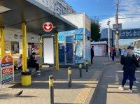 Остановка №240730 в городе Днепр (Днепропетровская область), размещение наружной рекламы, IDMedia-аренда по самым низким ценам!