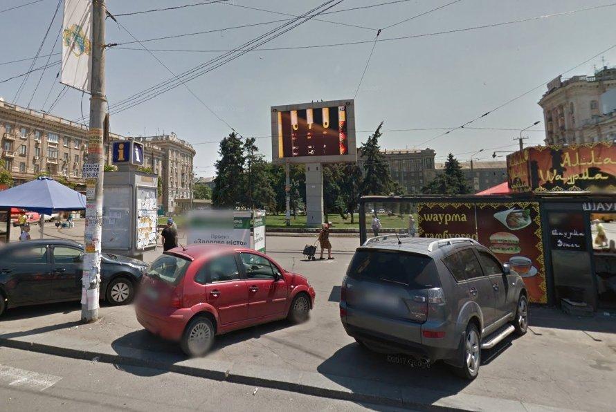 Экран №240757 в городе Днепр (Днепропетровская область), размещение наружной рекламы, IDMedia-аренда по самым низким ценам!