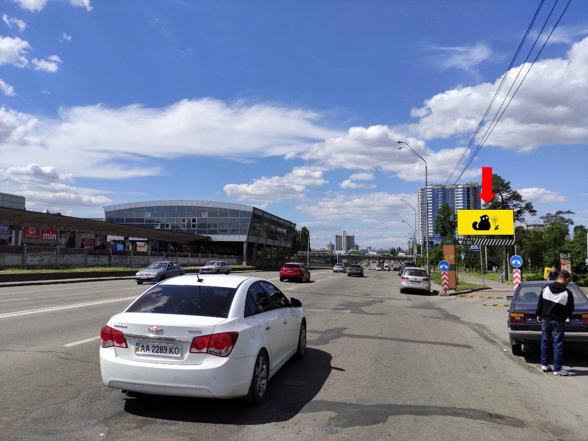 Экран №240764 в городе Киев (Киевская область), размещение наружной рекламы, IDMedia-аренда по самым низким ценам!
