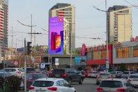 Брандмауэр №240787 в городе Киев (Киевская область), размещение наружной рекламы, IDMedia-аренда по самым низким ценам!