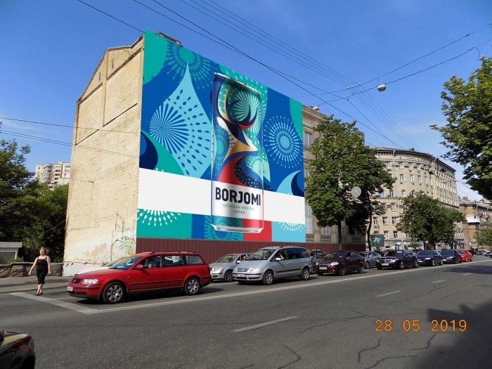 Брандмауэр №240790 в городе Киев (Киевская область), размещение наружной рекламы, IDMedia-аренда по самым низким ценам!