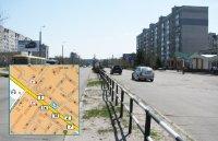 Билборд №240993 в городе Горишние Плавни(Комсомольск) (Полтавская область), размещение наружной рекламы, IDMedia-аренда по самым низким ценам!