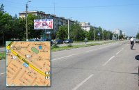 Билборд №240994 в городе Горишние Плавни(Комсомольск) (Полтавская область), размещение наружной рекламы, IDMedia-аренда по самым низким ценам!