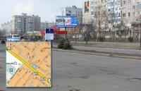 Билборд №240995 в городе Горишние Плавни(Комсомольск) (Полтавская область), размещение наружной рекламы, IDMedia-аренда по самым низким ценам!