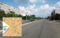 Билборд №240996 в городе Горишние Плавни(Комсомольск) (Полтавская область), размещение наружной рекламы, IDMedia-аренда по самым низким ценам!