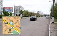 Билборд №240998 в городе Горишние Плавни(Комсомольск) (Полтавская область), размещение наружной рекламы, IDMedia-аренда по самым низким ценам!