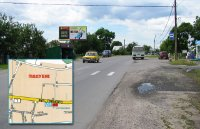 Билборд №241000 в городе Горишние Плавни(Комсомольск) (Полтавская область), размещение наружной рекламы, IDMedia-аренда по самым низким ценам!