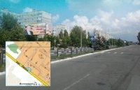 Билборд №241003 в городе Горишние Плавни(Комсомольск) (Полтавская область), размещение наружной рекламы, IDMedia-аренда по самым низким ценам!
