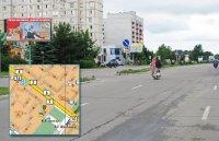 Билборд №241005 в городе Горишние Плавни(Комсомольск) (Полтавская область), размещение наружной рекламы, IDMedia-аренда по самым низким ценам!