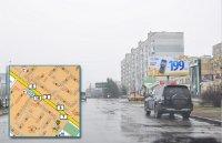 Билборд №241006 в городе Горишние Плавни(Комсомольск) (Полтавская область), размещение наружной рекламы, IDMedia-аренда по самым низким ценам!