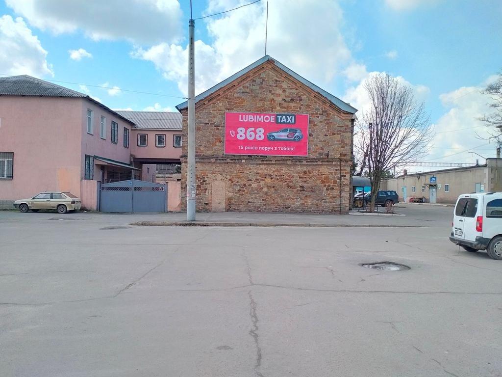 Билборд №241546 в городе Кривой Рог (Днепропетровская область), размещение наружной рекламы, IDMedia-аренда по самым низким ценам!