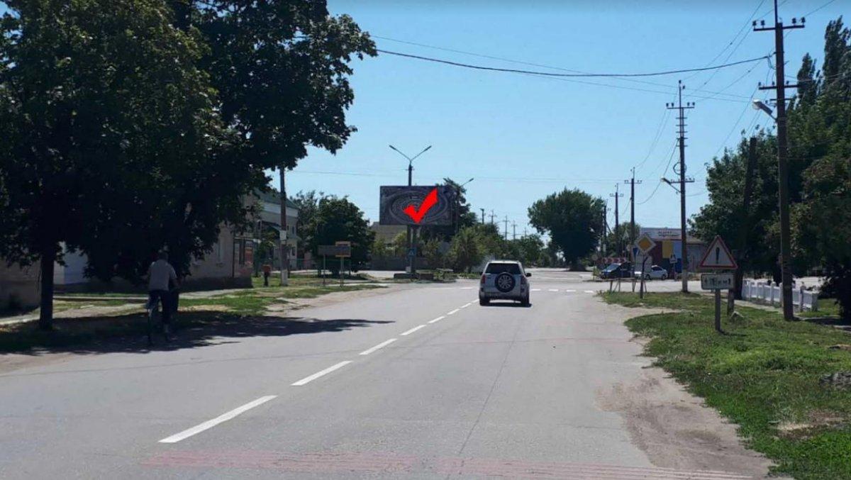 Билборд №241562 в городе Приморск (Запорожская область), размещение наружной рекламы, IDMedia-аренда по самым низким ценам!