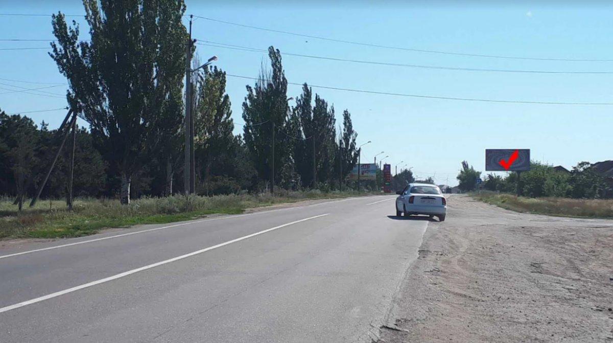Билборд №241565 в городе Приморск (Запорожская область), размещение наружной рекламы, IDMedia-аренда по самым низким ценам!