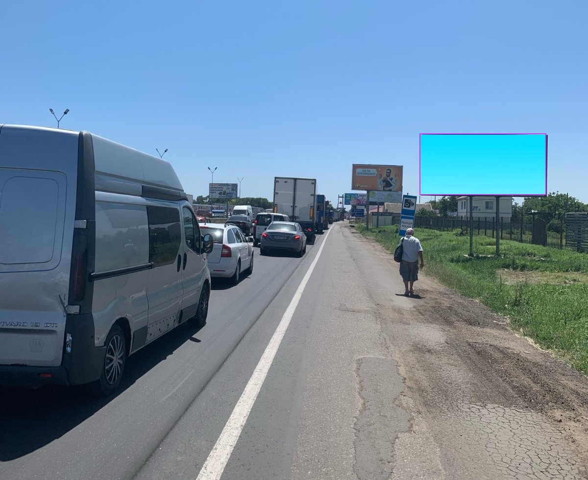 Билборд №241569 в городе Одесса (Одесская область), размещение наружной рекламы, IDMedia-аренда по самым низким ценам!