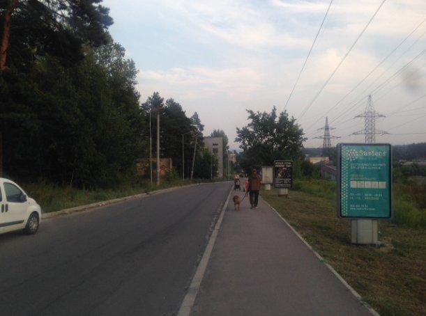 Ситилайт №241662 в городе Вышгород (Киевская область), размещение наружной рекламы, IDMedia-аренда по самым низким ценам!
