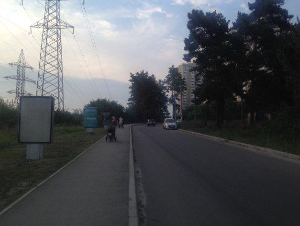 Ситилайт №241663 в городе Вышгород (Киевская область), размещение наружной рекламы, IDMedia-аренда по самым низким ценам!