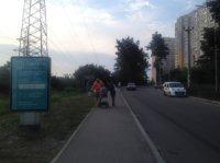 Ситилайт №241665 в городе Вышгород (Киевская область), размещение наружной рекламы, IDMedia-аренда по самым низким ценам!