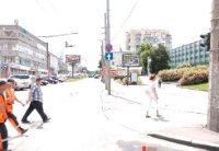 Экран №242889 в городе Хмельницкий (Хмельницкая область), размещение наружной рекламы, IDMedia-аренда по самым низким ценам!