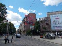 Брандмауэр №242905 в городе Львов (Львовская область), размещение наружной рекламы, IDMedia-аренда по самым низким ценам!