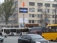 Экран №242908 в городе Запорожье (Запорожская область), размещение наружной рекламы, IDMedia-аренда по самым низким ценам!