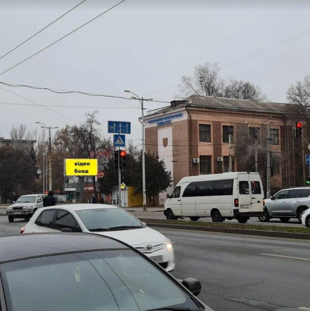 Экран №242919 в городе Запорожье (Запорожская область), размещение наружной рекламы, IDMedia-аренда по самым низким ценам!
