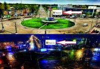 Экран №242946 в городе Кривой Рог (Днепропетровская область), размещение наружной рекламы, IDMedia-аренда по самым низким ценам!