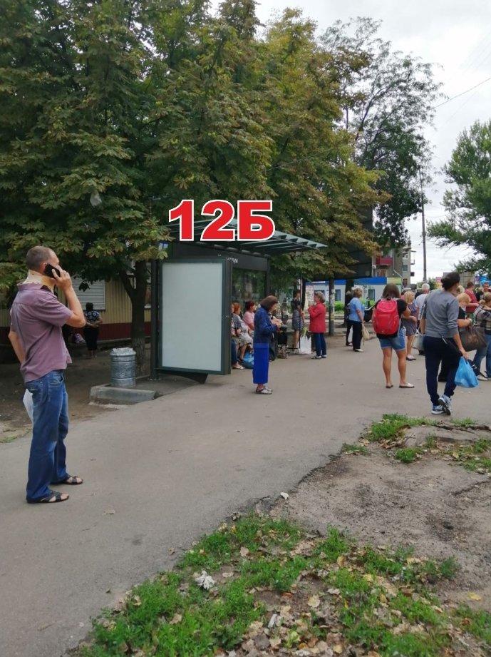 Ситилайт №243270 в городе Славянск (Донецкая область), размещение наружной рекламы, IDMedia-аренда по самым низким ценам!