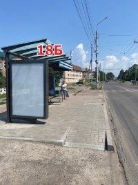 Ситилайт №243278 в городе Славянск (Донецкая область), размещение наружной рекламы, IDMedia-аренда по самым низким ценам!