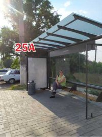 Ситилайт №243287 в городе Славянск (Донецкая область), размещение наружной рекламы, IDMedia-аренда по самым низким ценам!