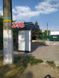 Ситилайт №243290 в городе Славянск (Донецкая область), размещение наружной рекламы, IDMedia-аренда по самым низким ценам!