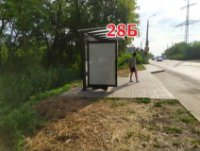 Ситилайт №243294 в городе Славянск (Донецкая область), размещение наружной рекламы, IDMedia-аренда по самым низким ценам!