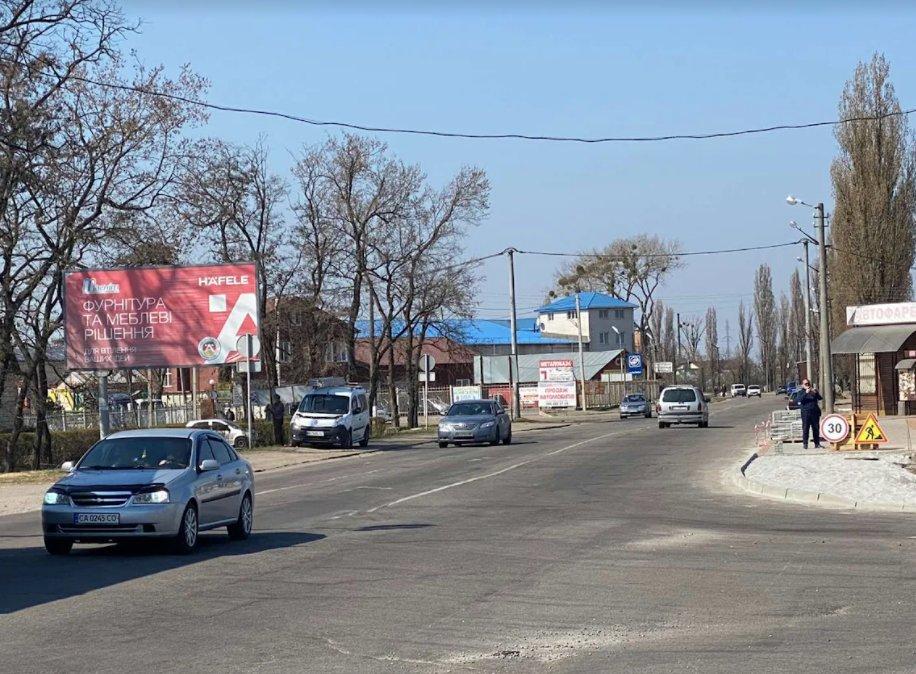 Билборд №243342 в городе Белая Церковь (Киевская область), размещение наружной рекламы, IDMedia-аренда по самым низким ценам!