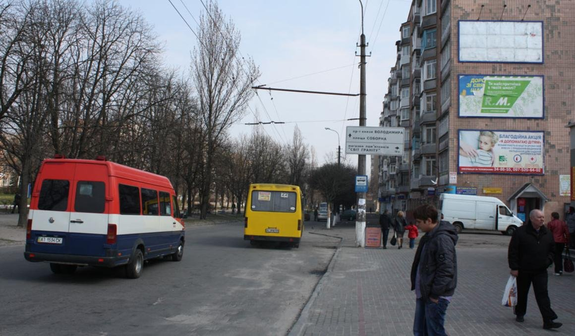 Билборд №243345 в городе Белая Церковь (Киевская область), размещение наружной рекламы, IDMedia-аренда по самым низким ценам!