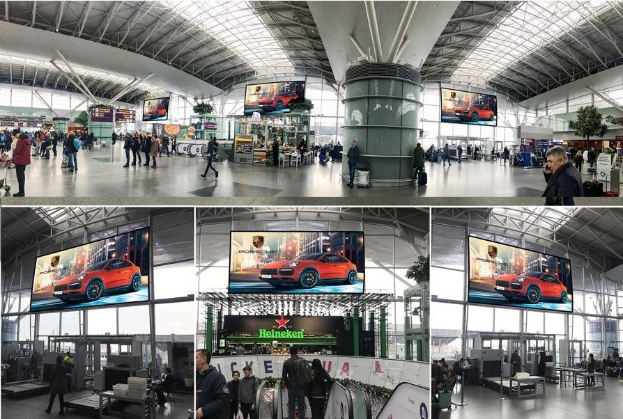 Экран №243399 в городе Борисполь (Киевская область), размещение наружной рекламы, IDMedia-аренда по самым низким ценам!