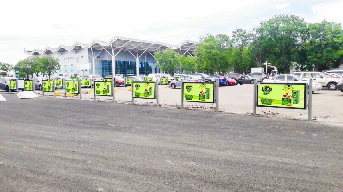 Турникет №243401 в городе Одесса (Одесская область), размещение наружной рекламы, IDMedia-аренда по самым низким ценам!